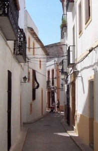 old town javea / centre historic xabia