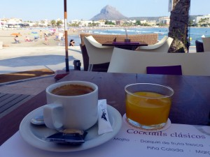 javea beach breakfast