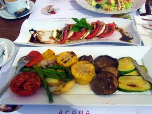 vegetarian food javea