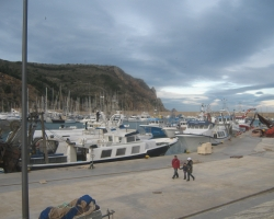 Lively Fishermans Port in Javea