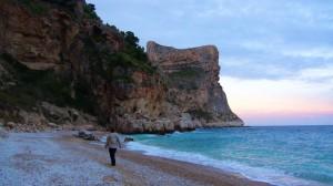 El Moraig beach spain
