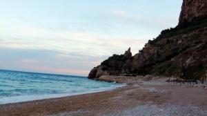 Playa Benitatxell el moraig